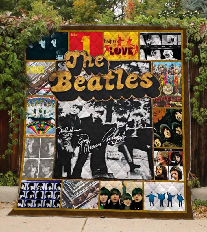 Quilt Blanket/The Beatles Quilt
