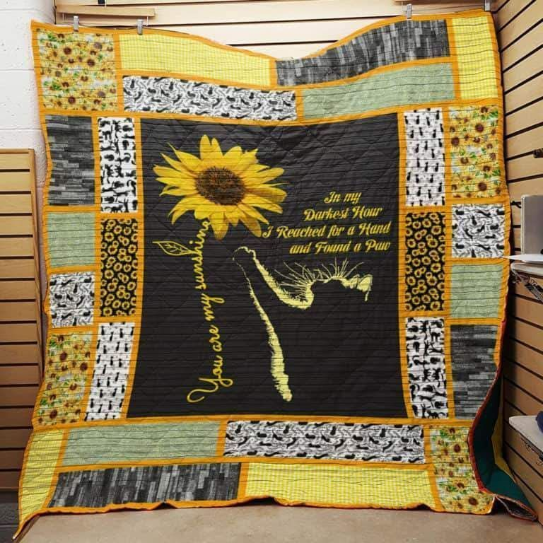 Sunflower Quilt Blanket