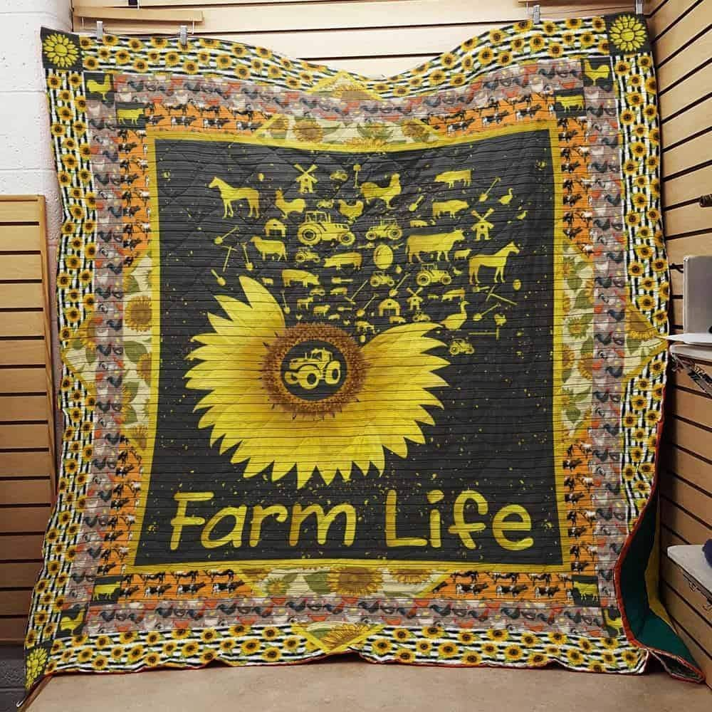 Quilt Blanket/Sunflower Quilt