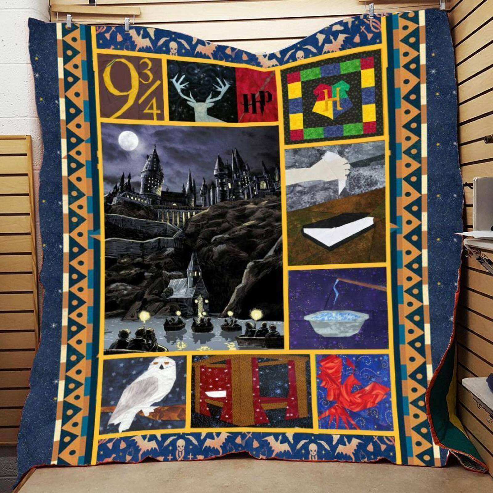 Quilt Blanket/Harry Potter Quilt