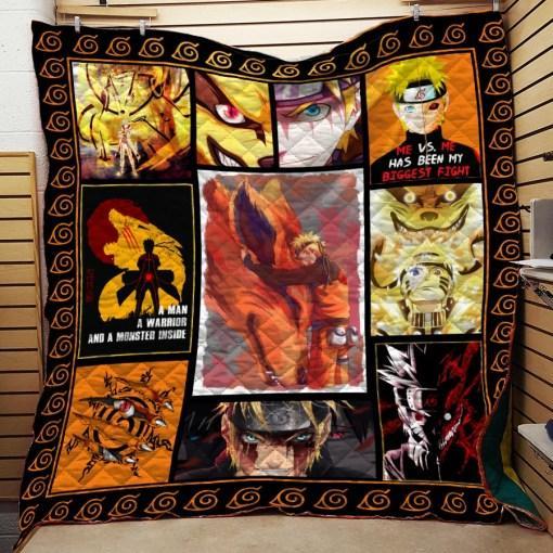 Quilt Blanket/Naruto Quilt Blanket