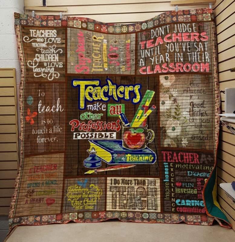 Quilt Blanket/Teacher Quilt