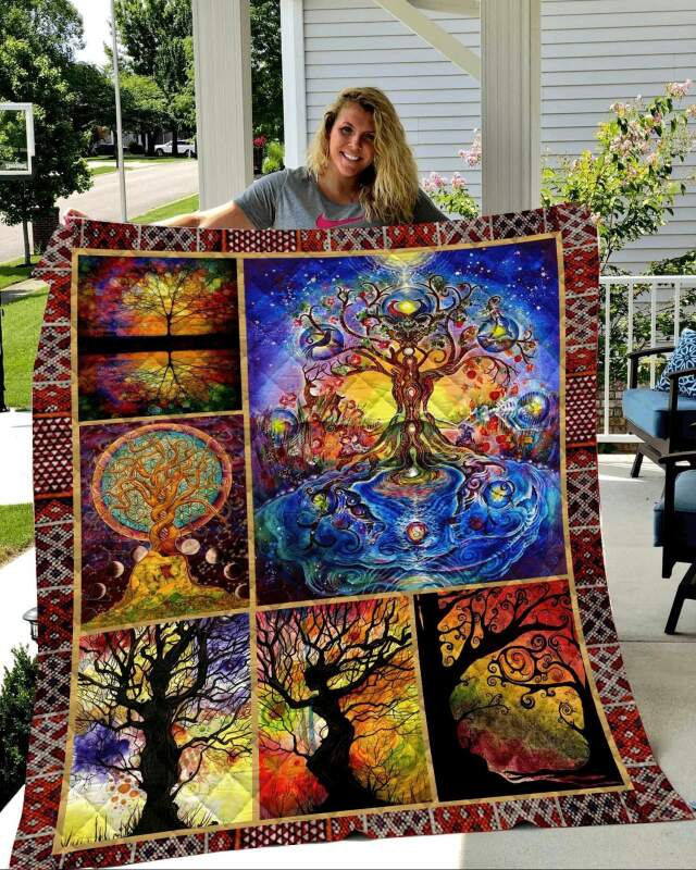Quilt Blanket/Tree Of Life Quilt